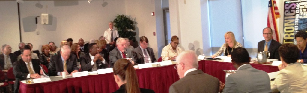 """Roundtable on """"Strengthening Skills in Our 21st Century Workforce,"""" Anne Arundel Community College, Arnold, Maryland"""