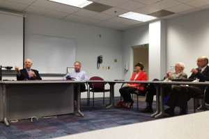 U.S. Senator Ben Cardin at roundtable of the Regional Manufacturing Institute of Maryland (RMI)
