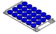 Ultrasonic cleaning basket