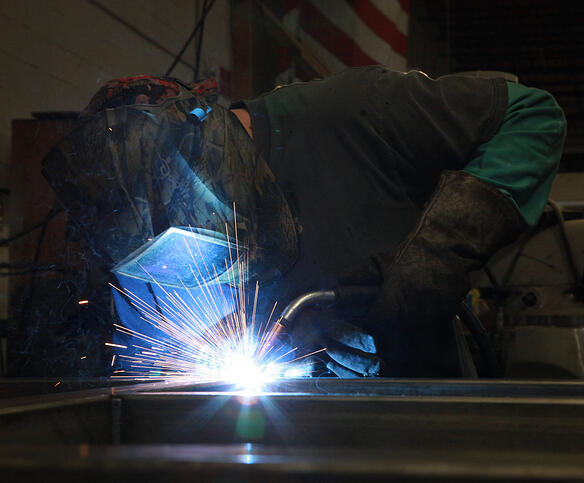 Marlin Steel welding