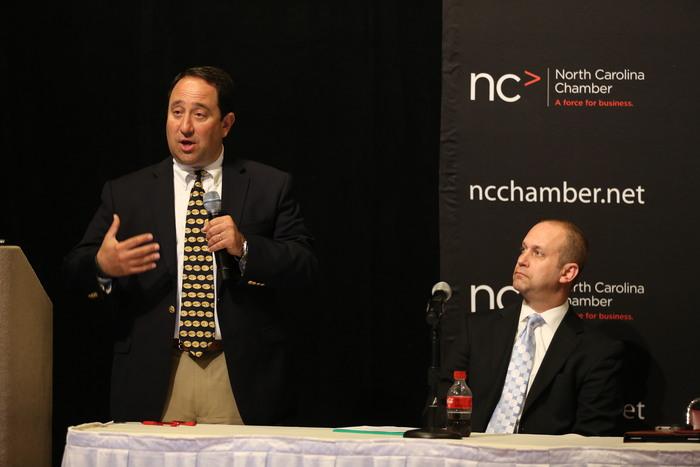 Drew Greenblatt Speaks Before the North Carolina Chamber of Commerce