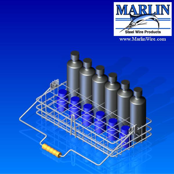 Plastinal - Parts Washing Wire Basket Marlin Steel
