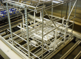 Marlin Steel's Ultrasonic Cleaning Baskets