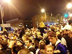 Federal Hill, Baltimore celebration