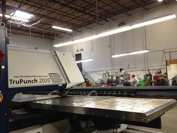 Trumpf Sheet Metal Punch at Marlin Steel