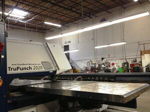 Automated equipment such as the TruPunch 2020 have changed the face of manufacturing in America.