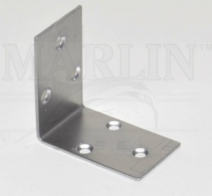Marlin Steel is producing sheet-metal brackets for a large Midwest company. They were previously made in China. Marlin won the job because its sheet metal punch produces the brackets 40X faster and at consistently higher quality than foreign low-cost labor.