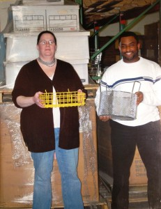Five years ago, two Marlin Steel employees stood three feet shorter than cartons holding our files to respond to government regulations. The stack would be much higher today.