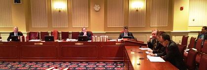 Marlin Steel CFO Alex Levin testifies in support of Maryland Senate Bill 466
