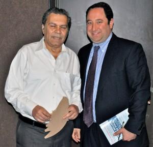 Eli Goldratt and Drew Greenblatt,  April 2011