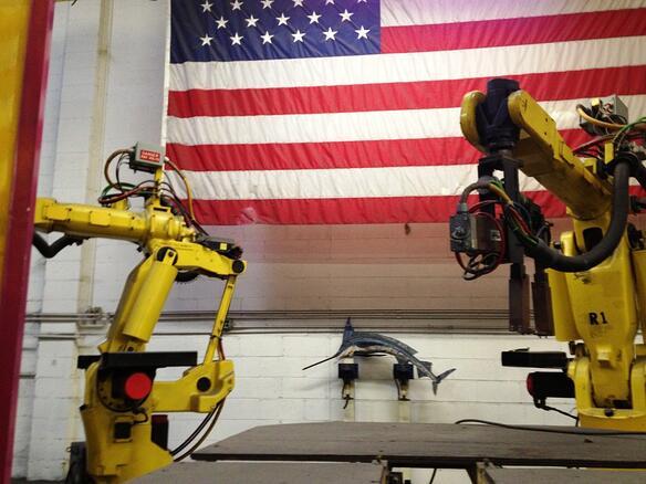 Marlin Steel automation