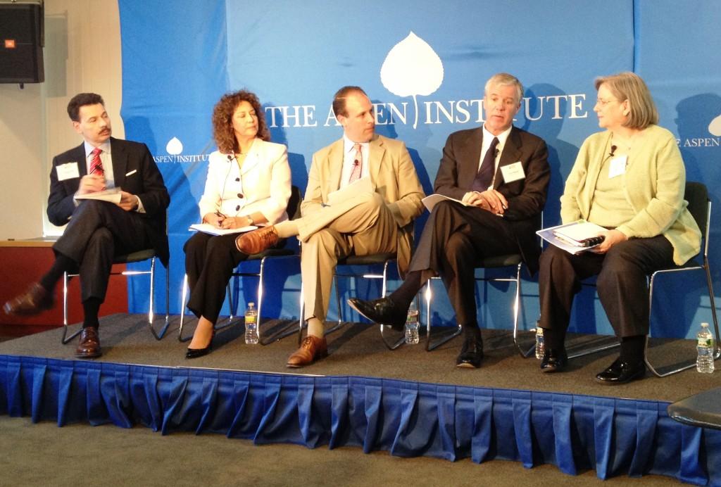 Aspen Institute panel on Skills Gap in Manufacturing