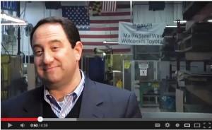 Marlin Steel President Drew Greenblatt Chamber of Commerce video