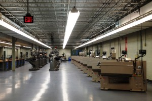Magna Baltimore Technical Training Center gleams in Park Heights