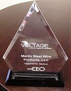 Marlin Steel VOLTAGE award