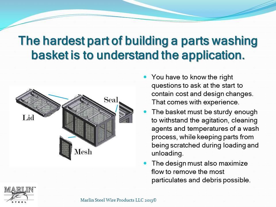 Marlin Steel Parts Washing Basket_Slide 1