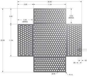 Marlin Steel perforated metal