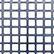 Perforated metal square