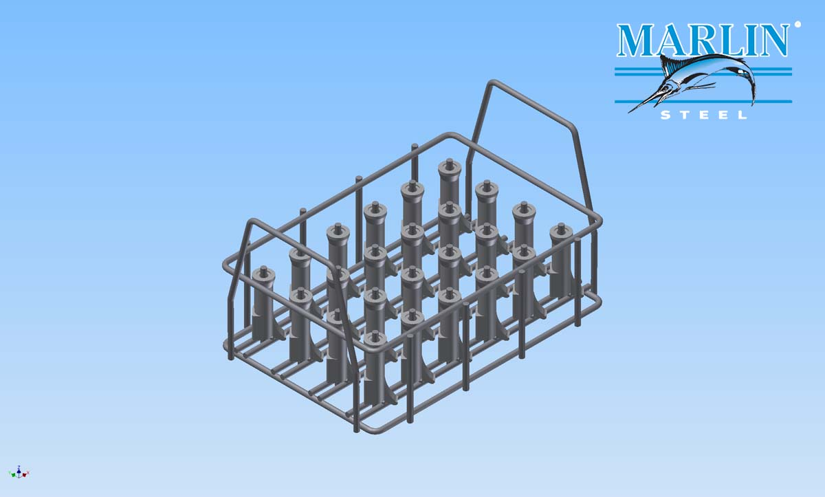 Marlin Steel Wire Basket 75007