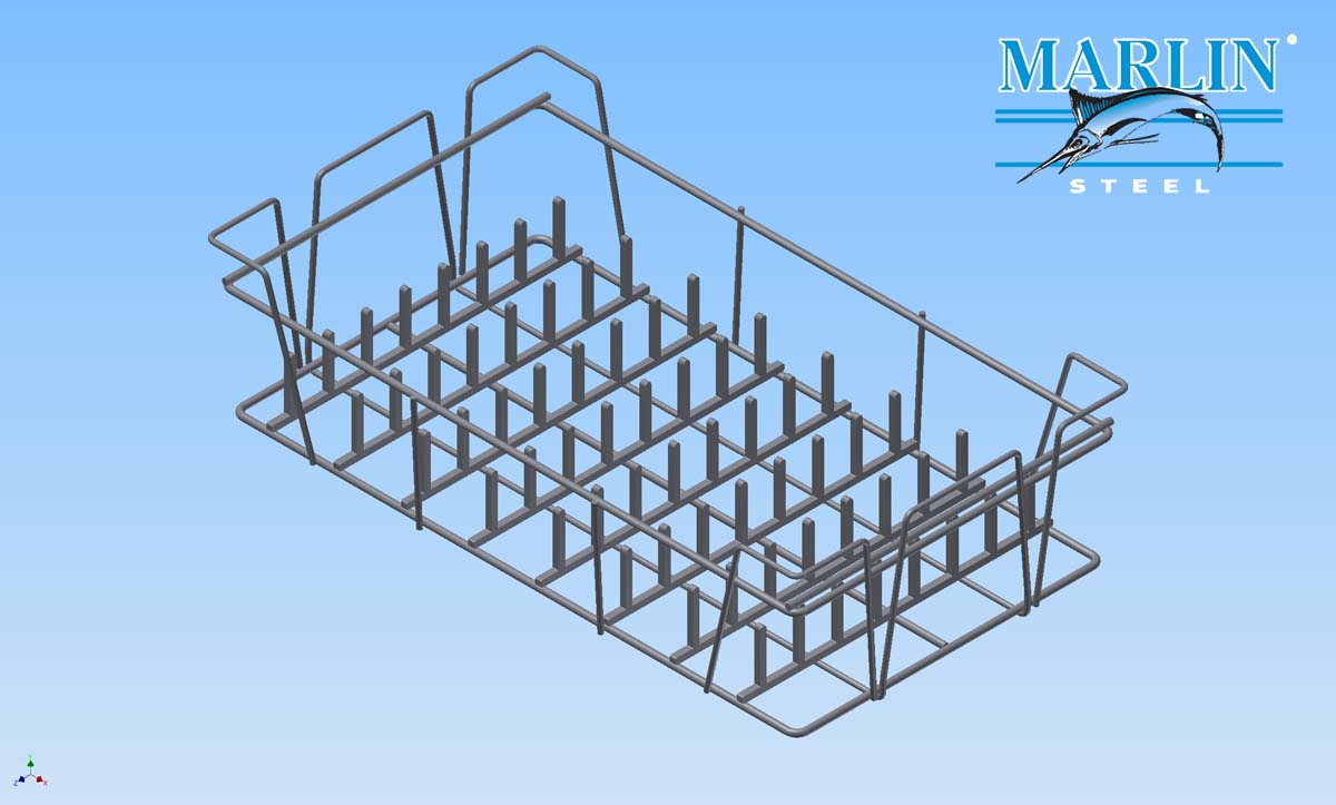 Marlin Steel Wire Basket 1094007
