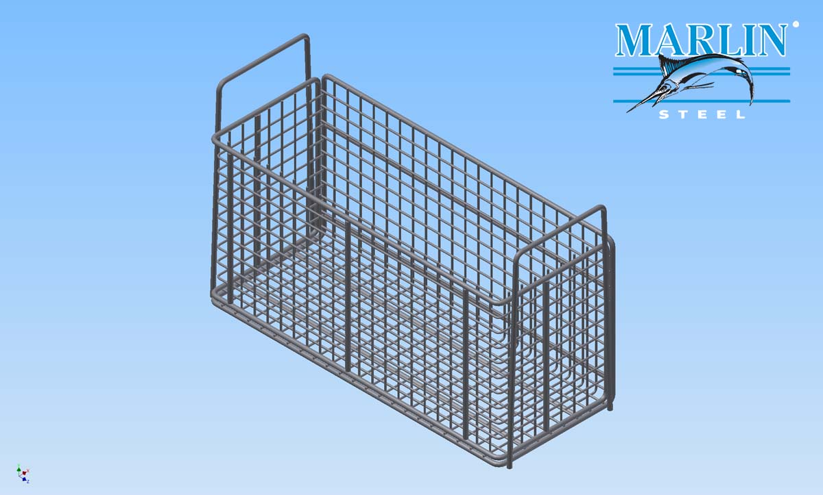 Marlin Steel WIre Basket 1981001