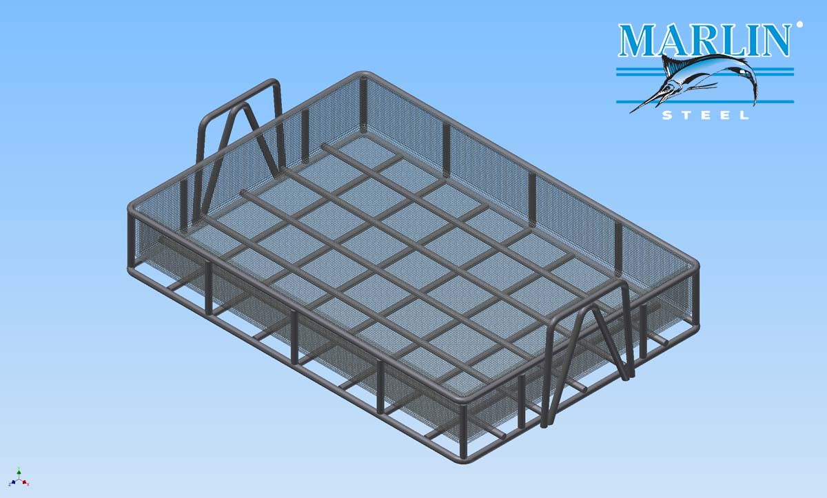 Marlin Steel Mesh Basket 785003