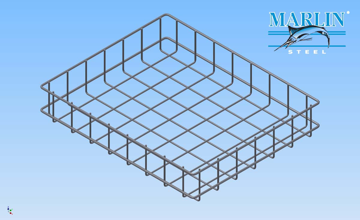 Marlin Steel Wire Basket 1019002