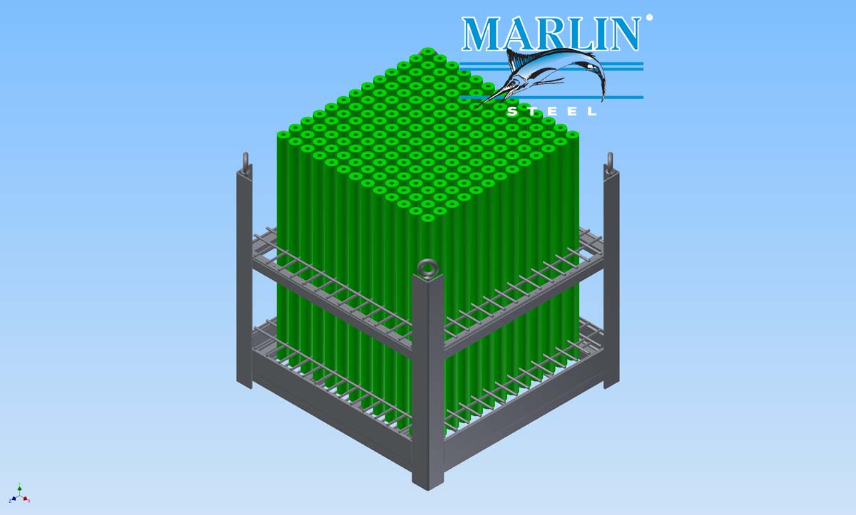 Marlin Steel Sheet Metal Basket 719020