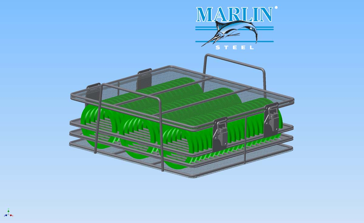 Marlin Steel Mesh Basket 1789004