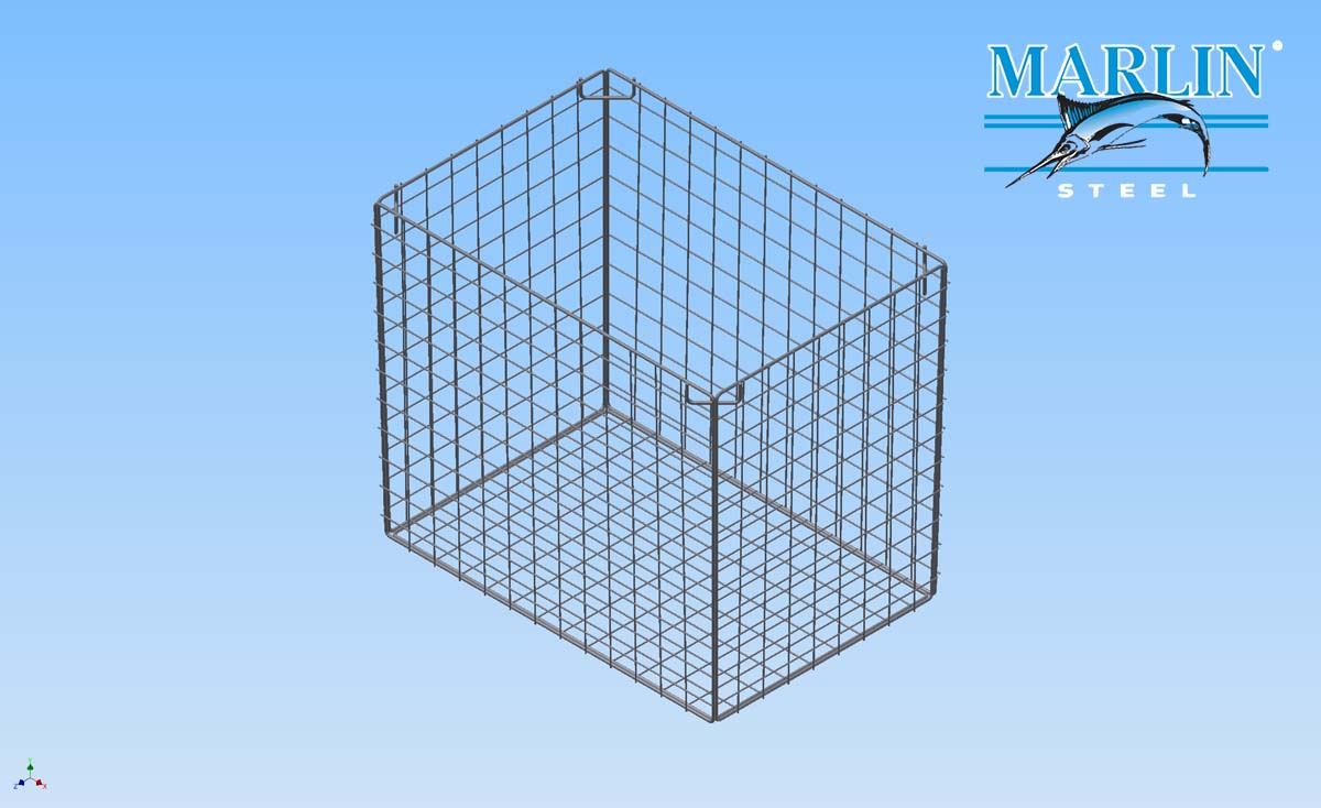 Marlin Steel Wire Basket 1699001