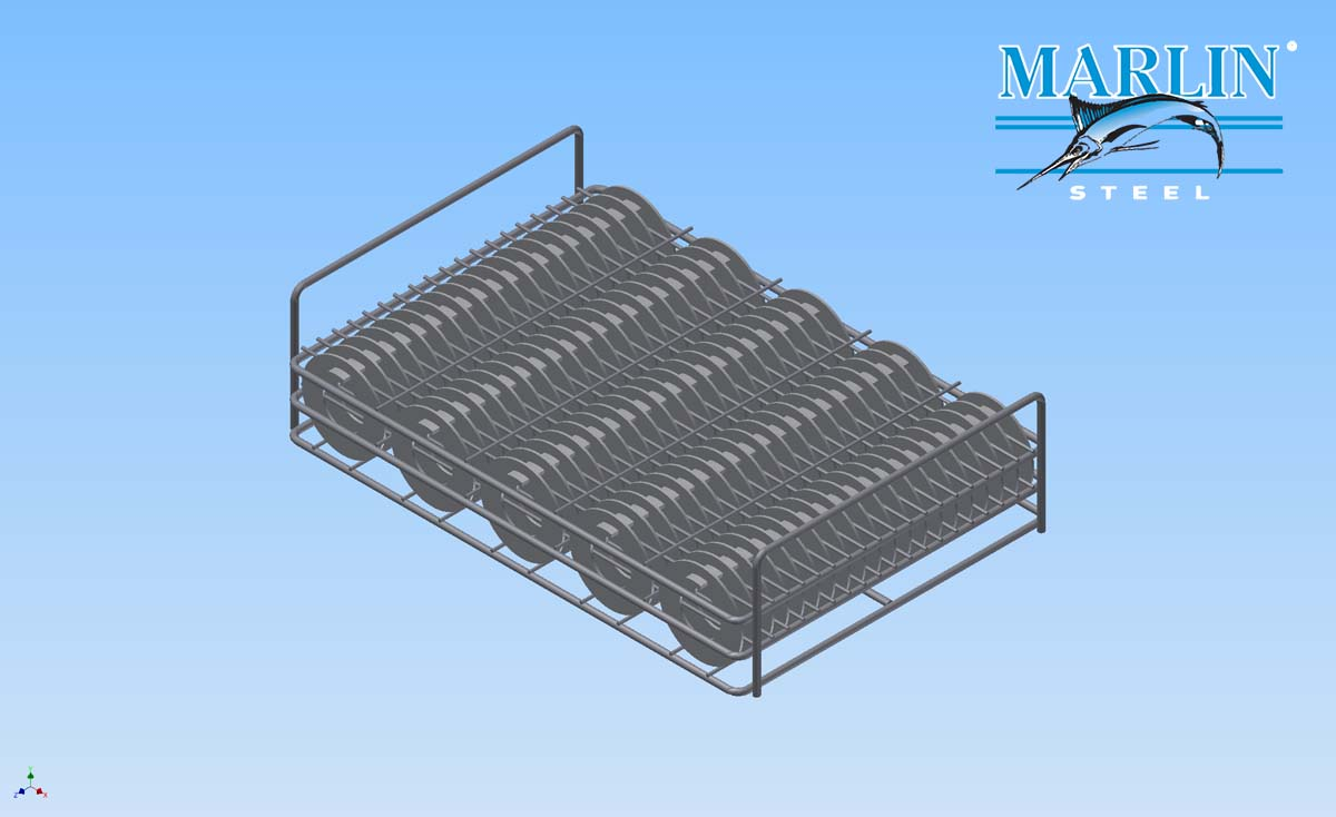 Marlin Steel Wire Basket 1429006