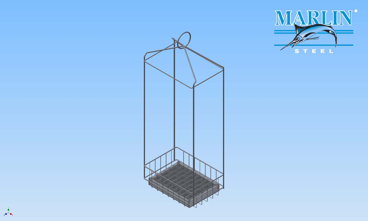 Marlin Steel Wire Basket 1727002
