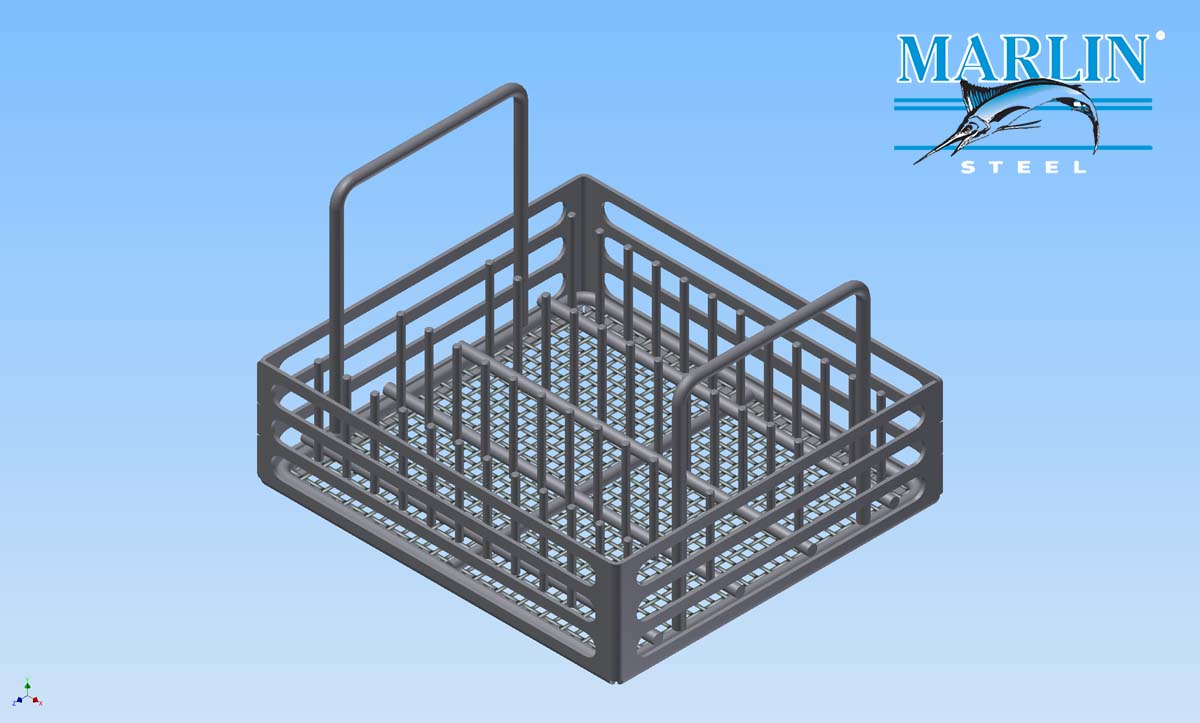 Marlin Steel Mesh Basket 360003