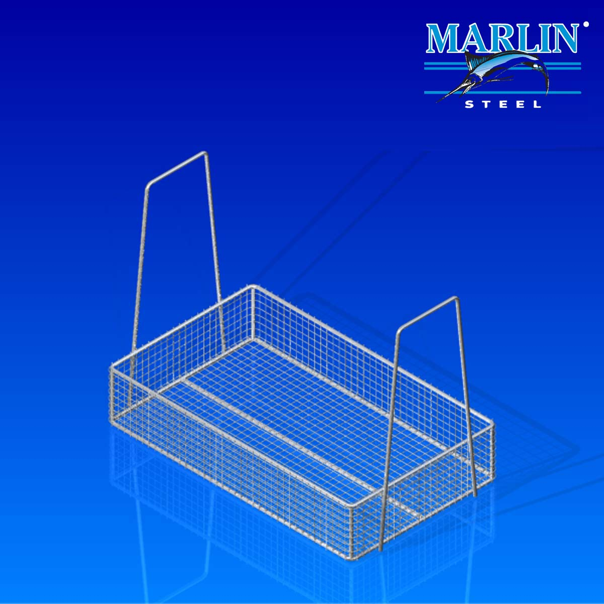 Wire Basket with Handles 281002