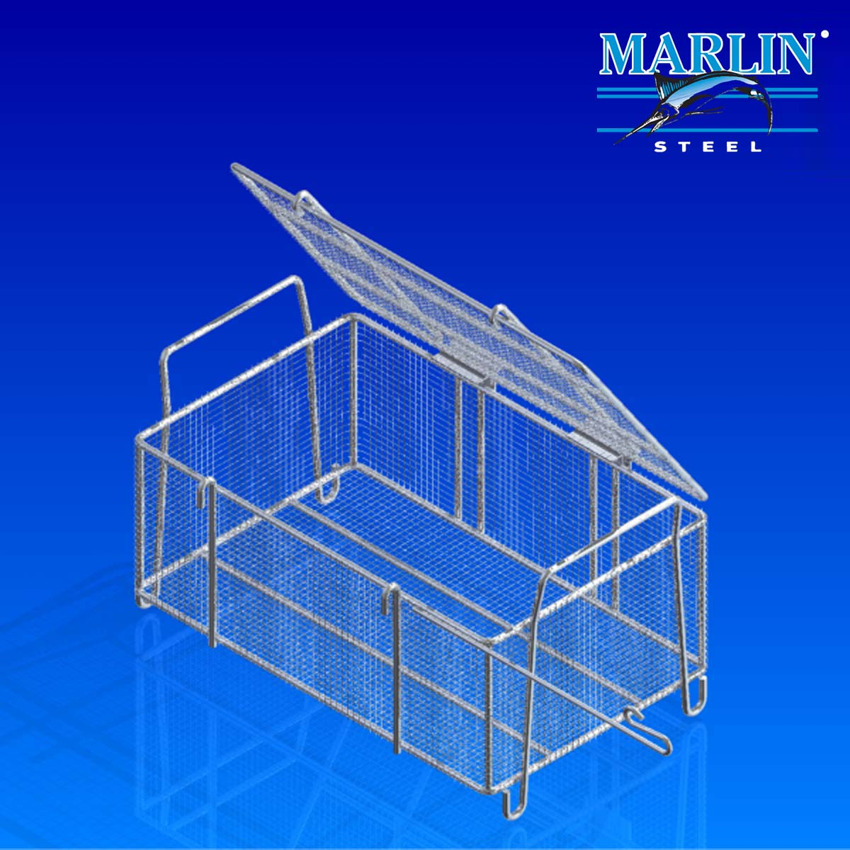 Wire Basket With Handles 533004