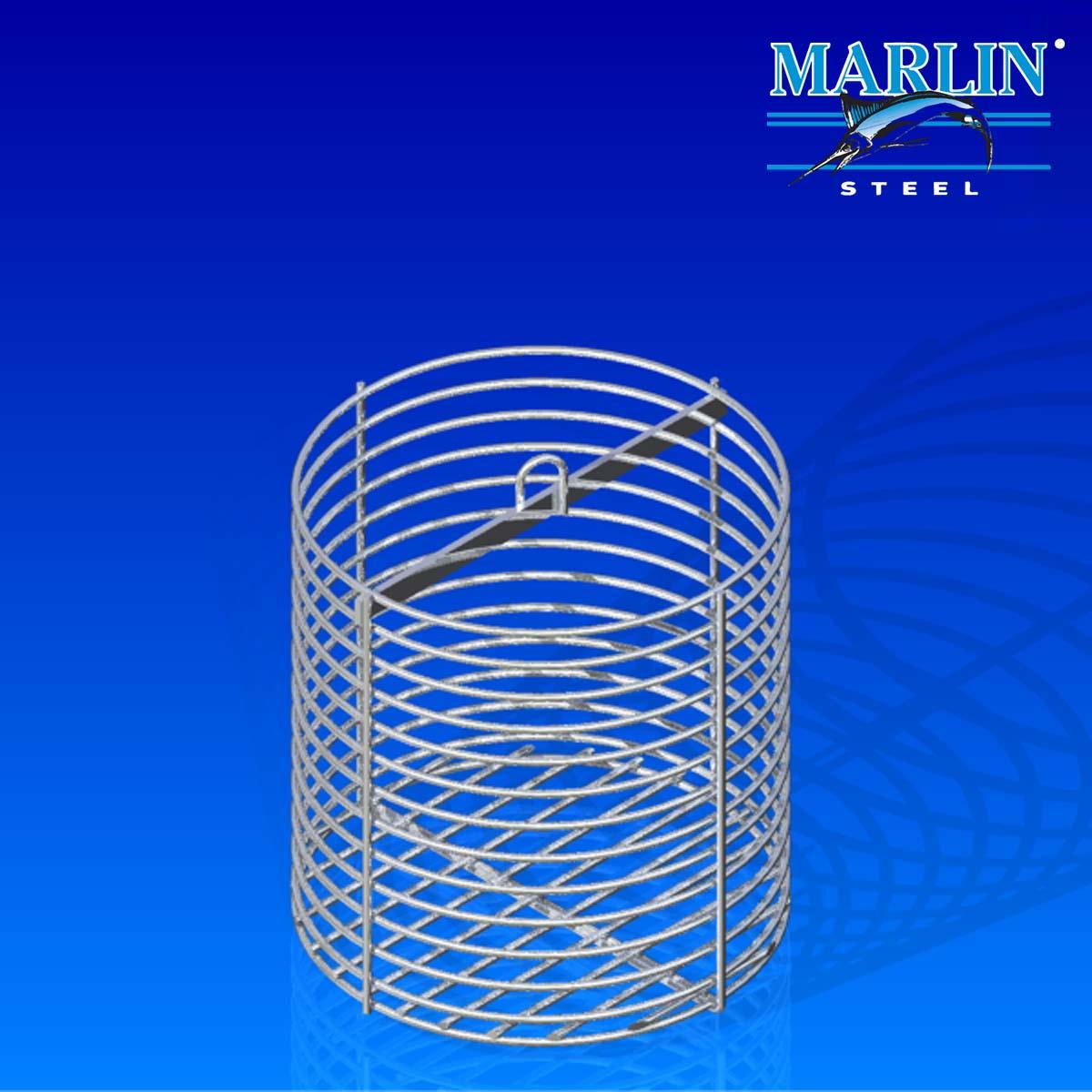Marlin Steel Round Basket 562001