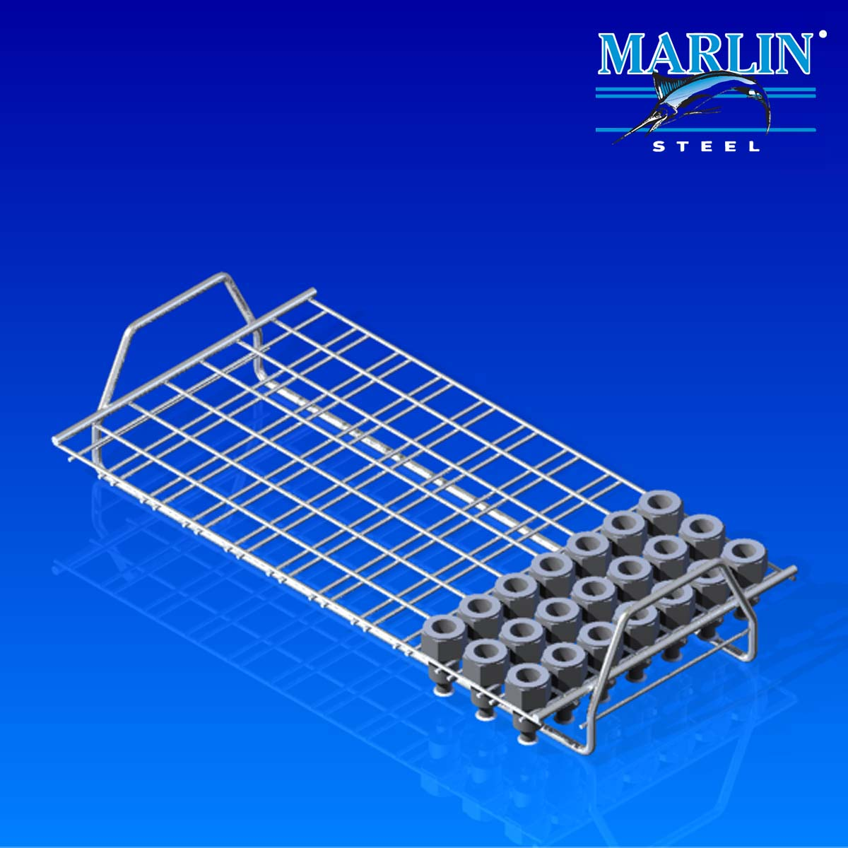 Marlin Steel Wire Material Handling Basket 713001