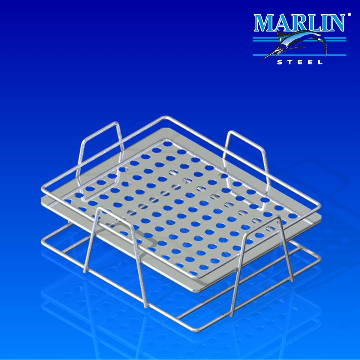 Wire Basket With Handles 719003
