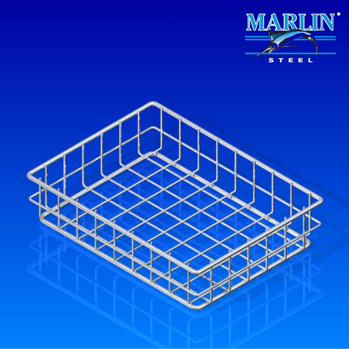 Marlin Steel Wire Basket 754001