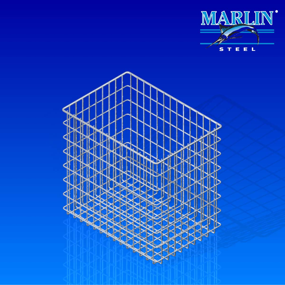 Marlin Steel Wire Basket 756001