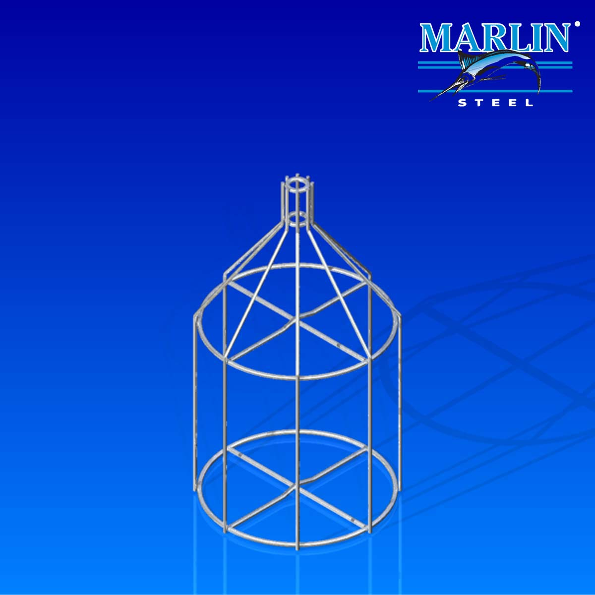 Marlin Steel Round Basket 769001