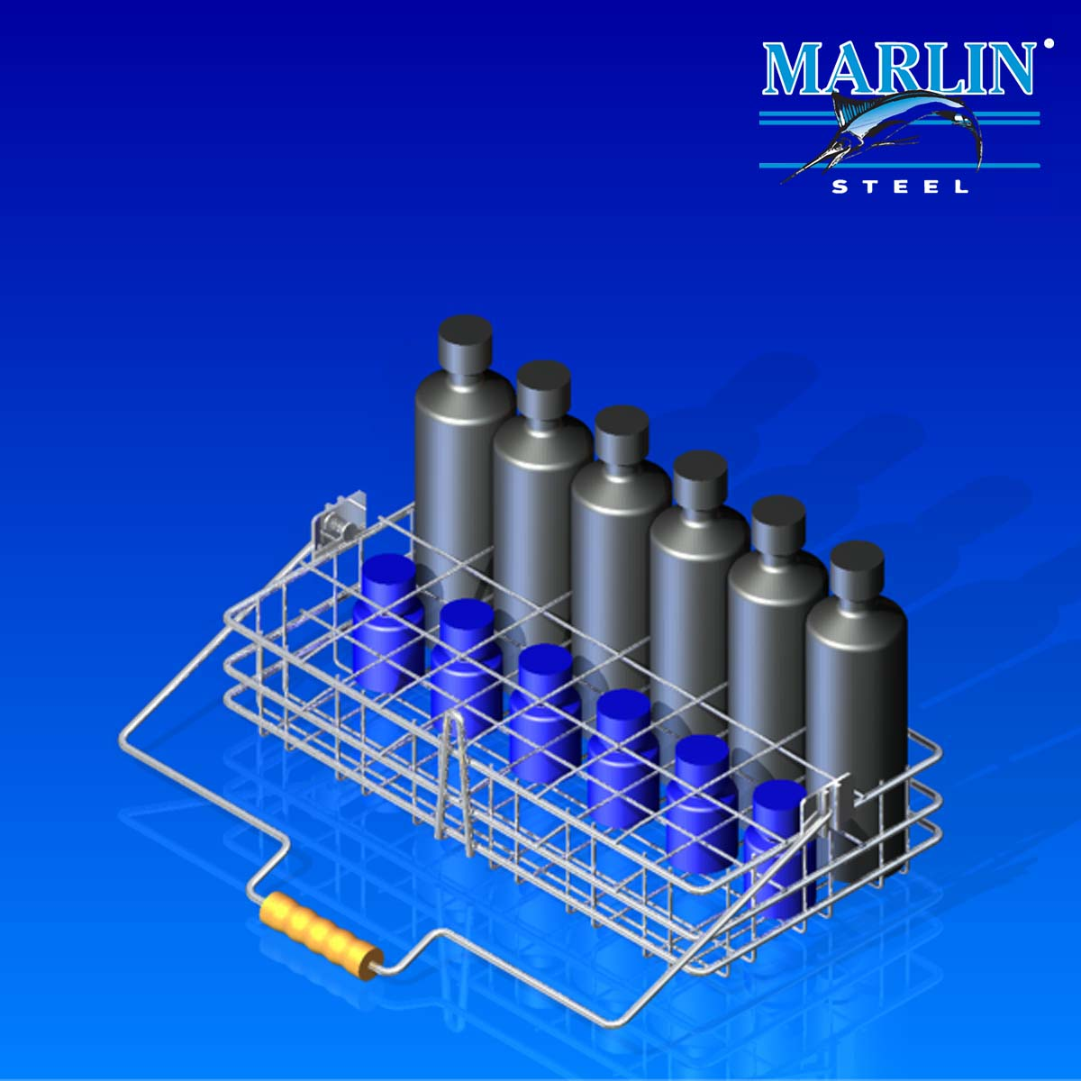 Wire Basket With Handles 841001