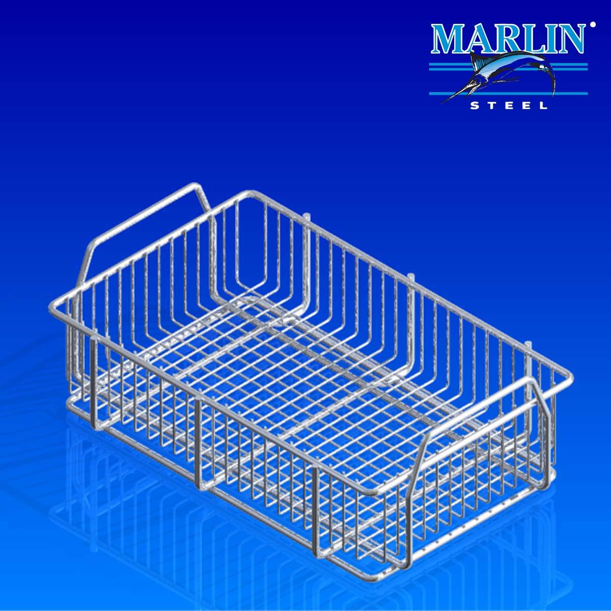 Marlin Steel Basket with Handles 848001