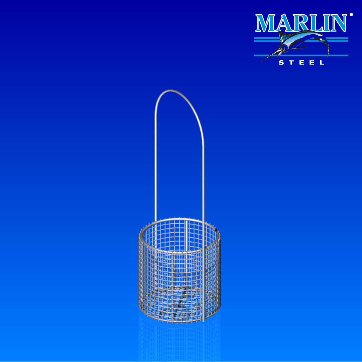 Marlin Steel Round Basket with Handles 853002