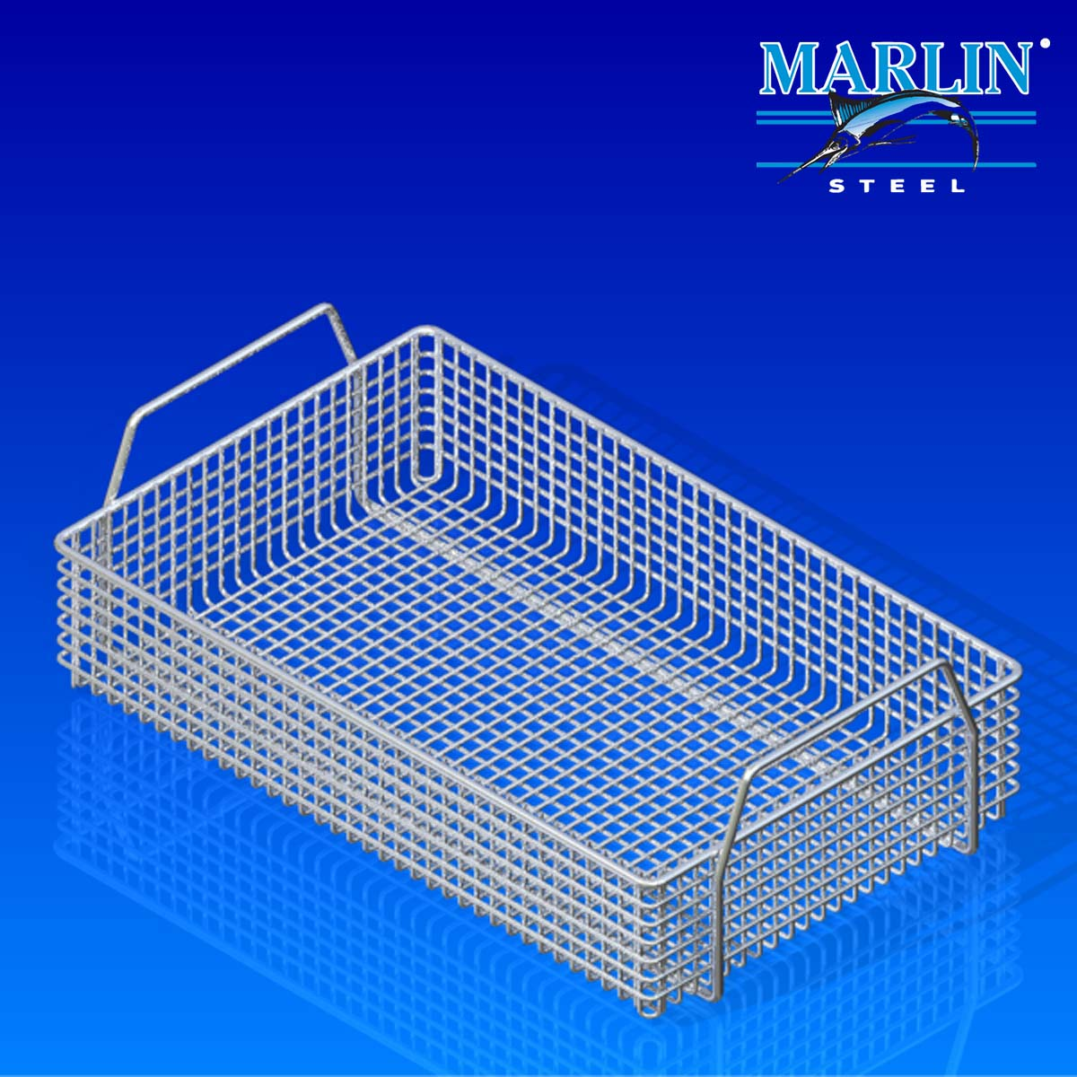 Marlin Steel Basket with Handles 823001
