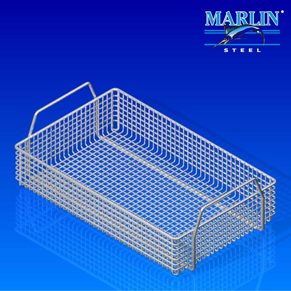 Marlin Steel Basket with Handles 823001