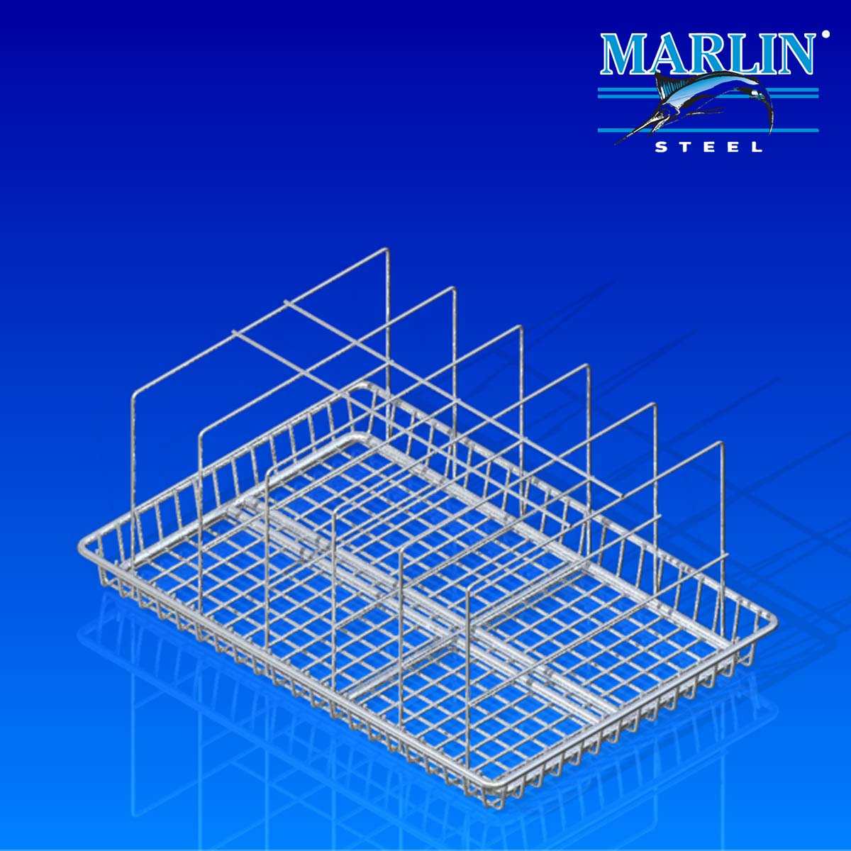 Marlin Steel Wire Basket 840001