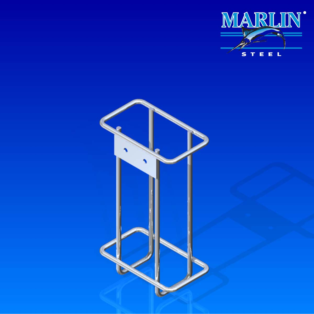 Marlin Steel Wire Basket 851001
