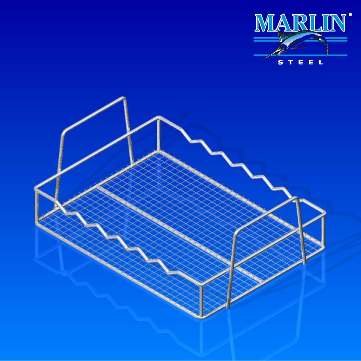 Wire Basket With Handles 854001