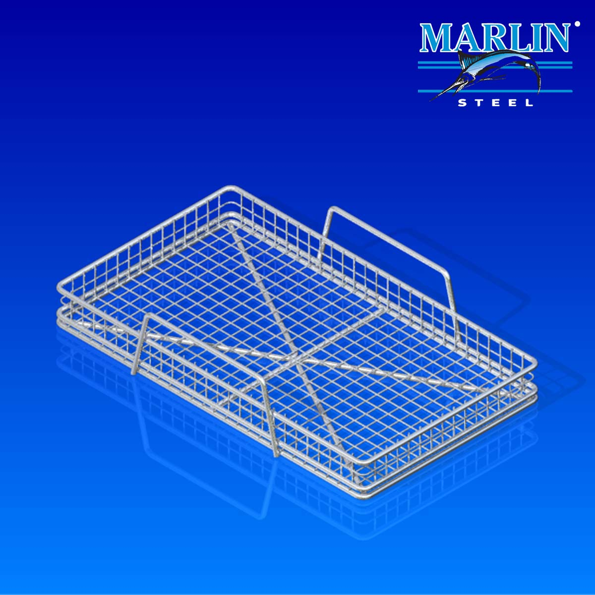 Marlin Steel Basket with Handles 854002